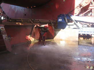 Blasting & Coating | CTS Offshore and Marine Limited Services