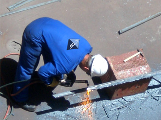 Steel & Pipe Installation and Fabrication | CTS Offshore and Marine Limited Services