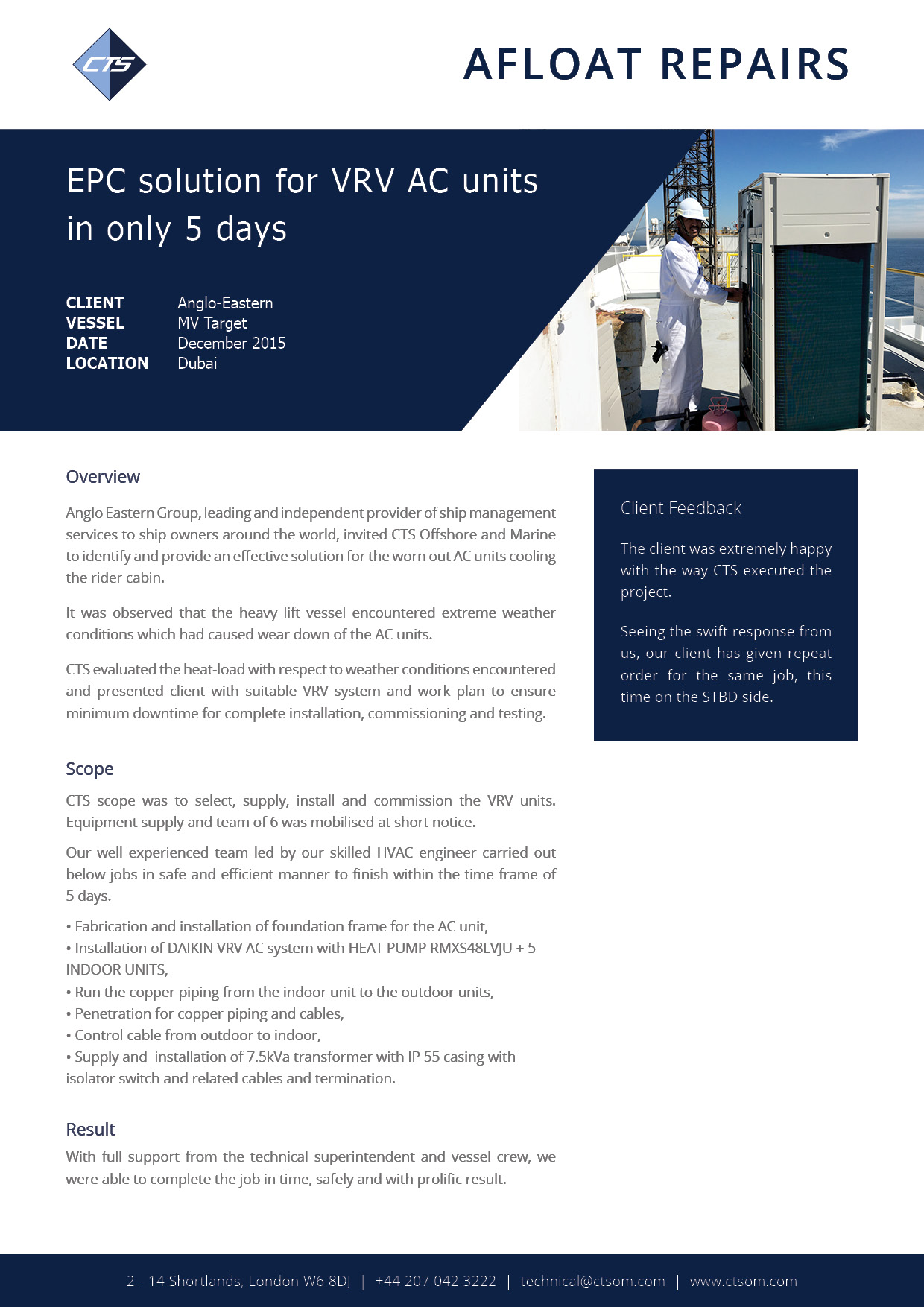 Downloads | CTS Offshore and Marine Limited