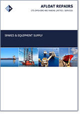 Spares and Equipment Supply Cover Page