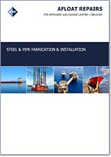 Steel and Pipe Fabrication and Installation Cover Page
