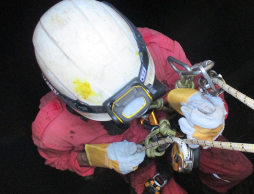 CTS Completes Tank Inspection Using Rope Access Technique