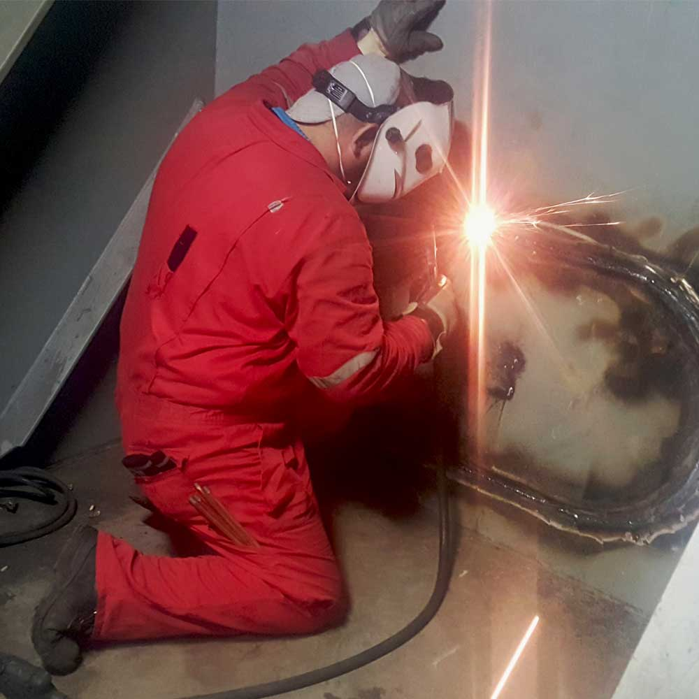 Cargo Tank Steel Repairs