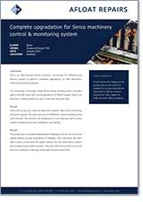 Serco Machinery Control and Monitoring System Case Study
