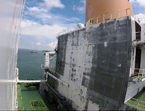 Blasting and Coating to Revamp LNG Tanker Whilst Trading