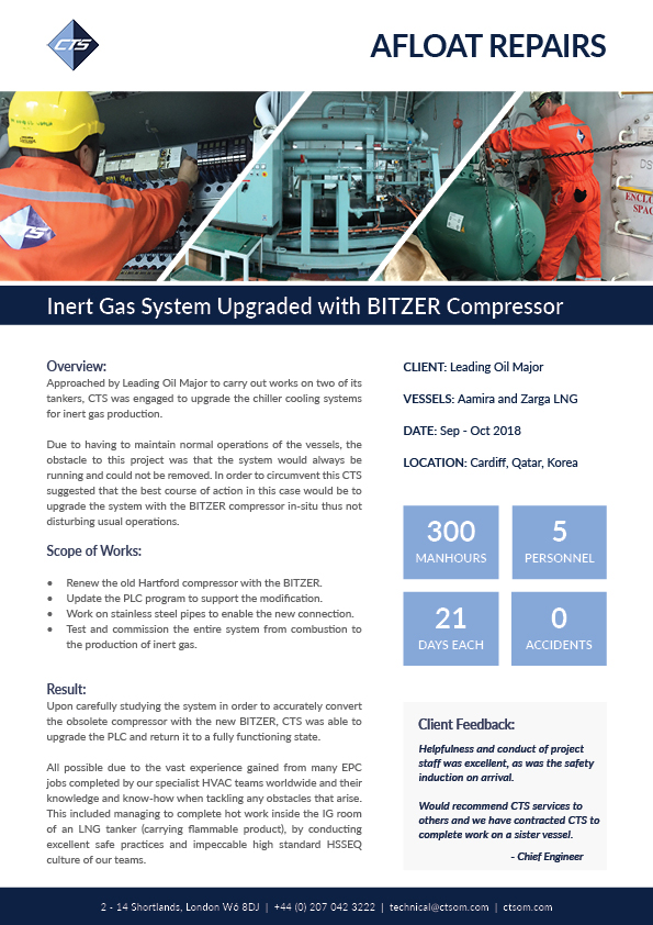 Inert Gas Case Study