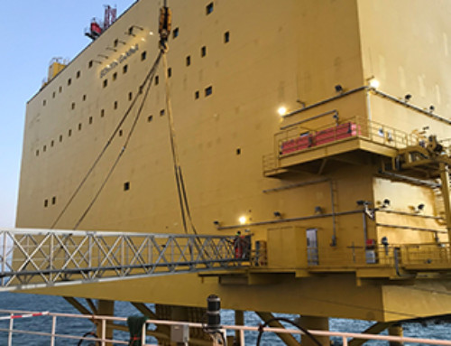 BorWin Gamma Safely Hooked-Up by CTS Teams