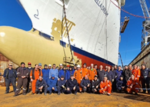 CTS teams Complete Major Cruise Refit